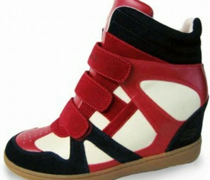 skechers sleehak sneakers maat 39 2x aangehad
