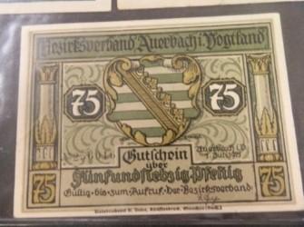 75 Pfenig 1921