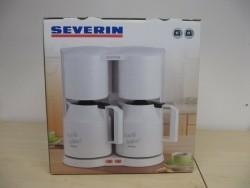 Dubbele koffiezetter van Severin
