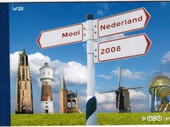 Prestigeboekje 20: Mooi Nederland 2008 – NVPH PR20