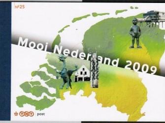 Prestigeboekje 25 Mooi Nederland 2009 – NVPH PR25