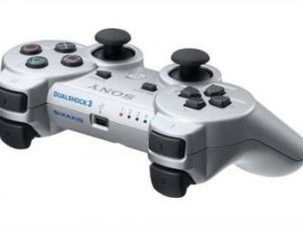 PS3 Wireless Dualshock Controller ZILVER/wit