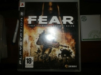 Fear playstation 3 spel Pandjeshuis Harlingen