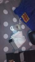 kickboxs handschoenen, kleren,beenbeschermer