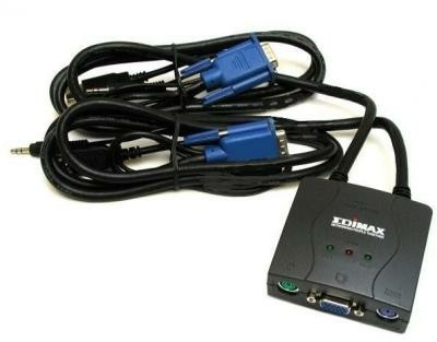 Edimax 2 ports USB KVM Switch with cables