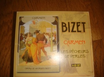 Bizet, 4 CD's in box