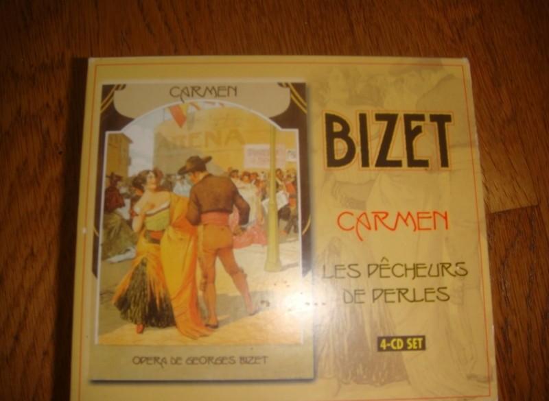 Bizet, 4 CD's in box