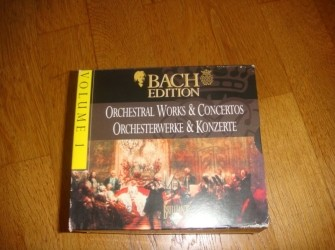 Bach Edition, volume 1. 9 Cd's in box