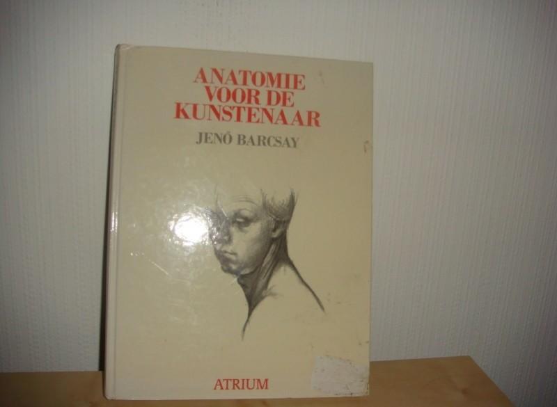 Anatomie voor de kunstenaar - boek.