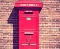 Foto Mooie antieke brievenbus