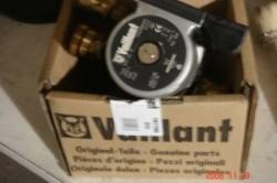 Nieuwe pomp voor Vaillant ketel