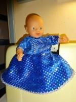 Nieuwe zelfgemaakte kleertjes voor little Baby Born (32cm)