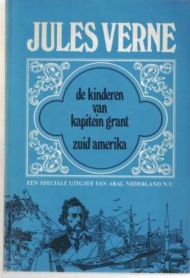 J.Verne,kinderen v Kapt Grant-Z-Amerika,ARAL NV, 1973