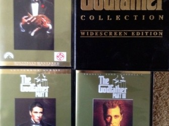 The Godfather Box deel 1-2-3 570 min.