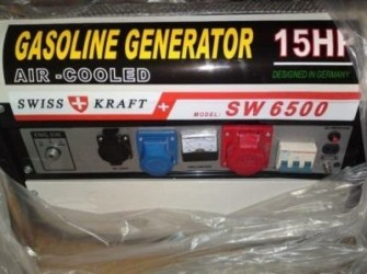 Nieuwe Stroomaggregaten 6500 Tot 8500 Watt 220 V