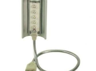 USB Led Lamp Voor Laptop 5LED - Gratis Bezorgd