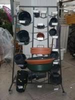 Elho potten  + onderzetters