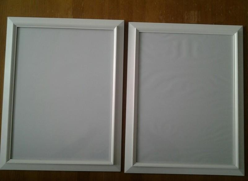 Fotolijsten hout wit
