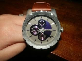 Horloge OOZOO bruin nieuw Pandjeshuis Harlingen