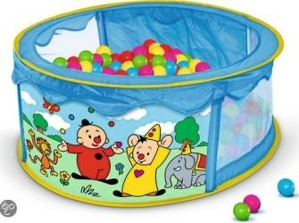 Bumba speelgoed (o.a. ballenbad)