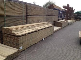 Geimpregneerd hout - Tuinhout (Planken, palen, regels, etc)