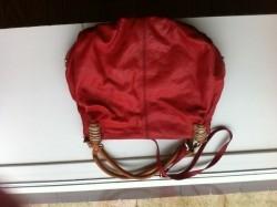 Vrolijke zachtleren handtas