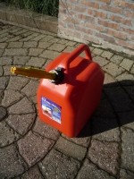 Yerrycan 25 Liter voor Benzine