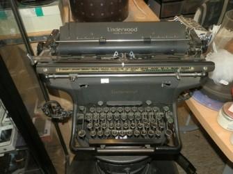 Underwood typmachine