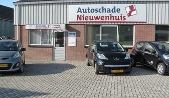 Autoschade Nieuwenhuis, autospuiterij, uitdeuken auto's