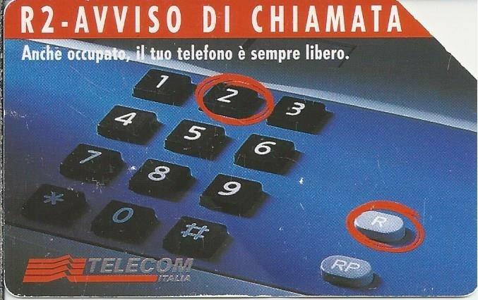 Telecom Italia. Avviso di Chiamata. 5.000 lire