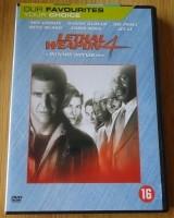 """Te koop originele DVD """"Lethal Weapon 4"""" met Mel Gibson."""