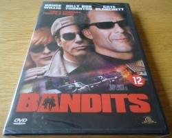"""Te koop de nieuwe originele DVD """"Bandits"""" met Bruce Willis."""