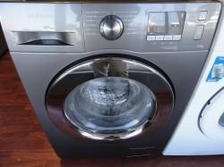 Grijze samsung ecobubble 8kg wasmachine nieuw! schademodel