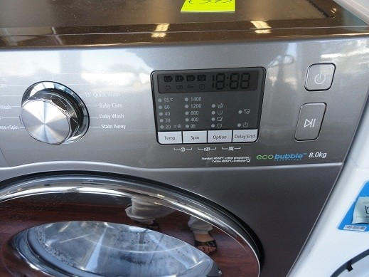 Welp Grijze samsung ecobubble 8kg wasmachine nieuw! schademodel - Den YO-28