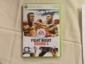 Xbox 360 Fight night round 4