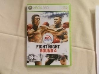 Xbox 360 Fight night round 4 Pandjeshuis Harlingen