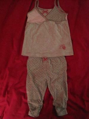 zomersetje van Feetje; hemdje + legging