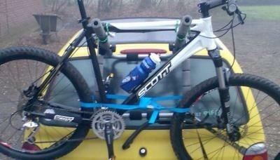 NIEUW fietsendrager v. auto z. trekhaak