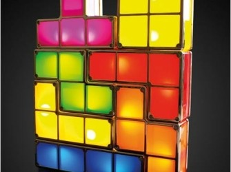 Tetris game lamp