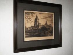 Ets of Gravure van Zutphen
