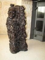 Ebben houten beeld, Afrikaans ?