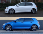 Foto Golf GTE (Custom) Eibach verlagin...