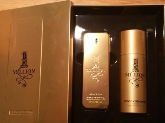 1 million heren luchtje te koop 100 ml plus deo