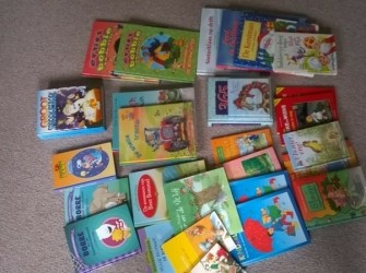 meer dan 20 kinderboeken, van alles wat (in 1 koop)