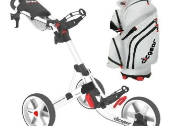 Clicgear 3.5 golftrolley inclusief Clicgear B3 Car