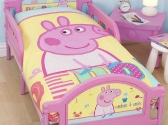 Peppa Big SEASIDE Kinderbed | Peuterbed