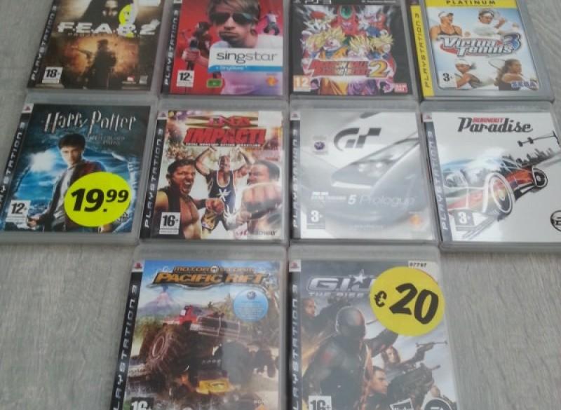 te koop diverse ps3 games