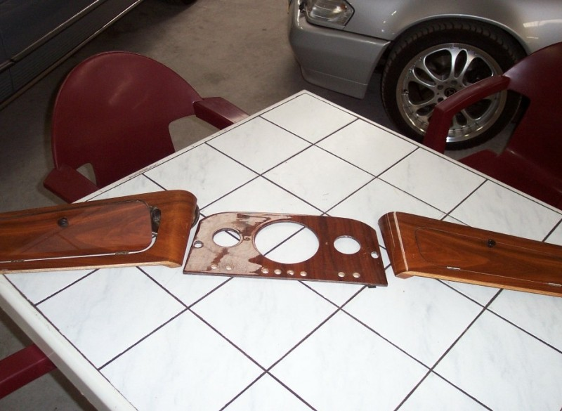 Austin houten dashbord mini en Austin documentatie