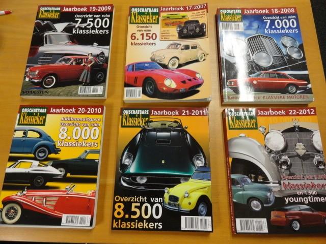 Klassieker jaarboeken en tijdschriften zie advert.