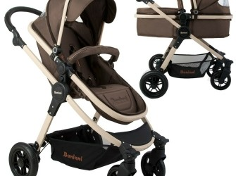 Kinderwagen Baninni Ayo Sugar Brown (incl. autostoel)